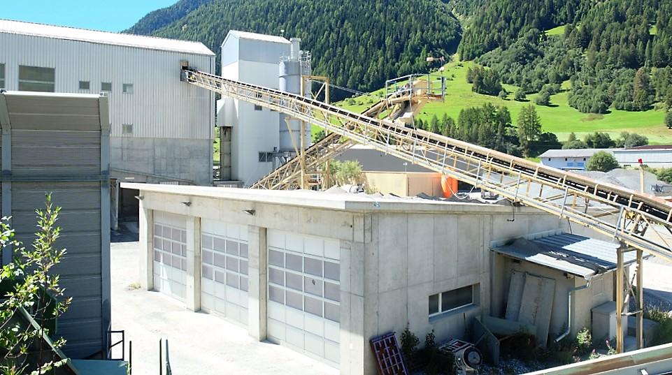 Sosa Gera SA Zernez - Kieswerk im Engadin | Schweiz